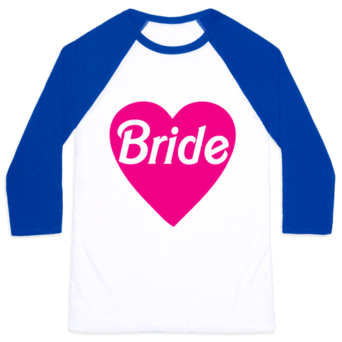 Bride Heart Baseball Tee