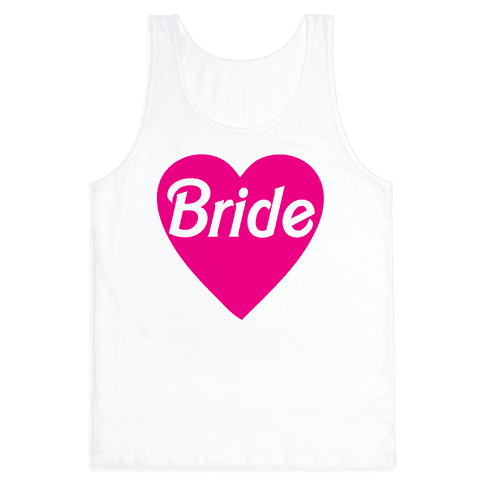 Bride Heart Tank Top