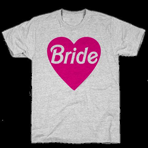 Bride Heart Mens T-Shirt
