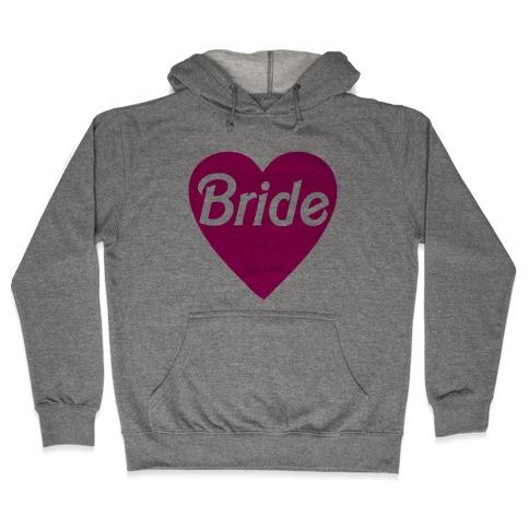 Bride Heart Hooded Sweatshirt