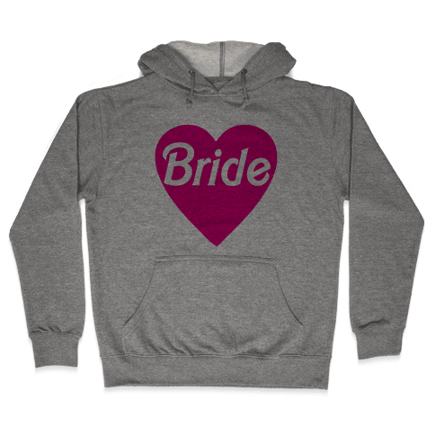 Bride Heart Hooded Sweatshirt