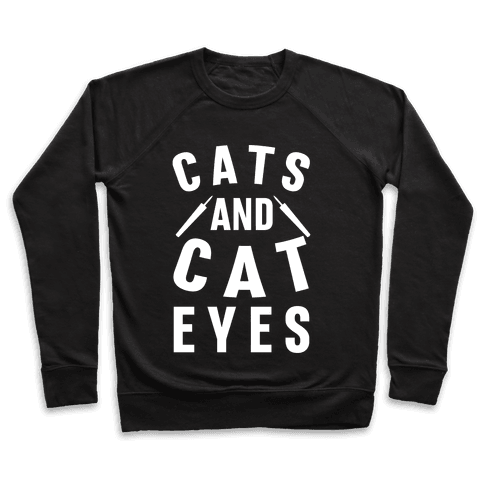 Cats and Cat Eyes Pullover