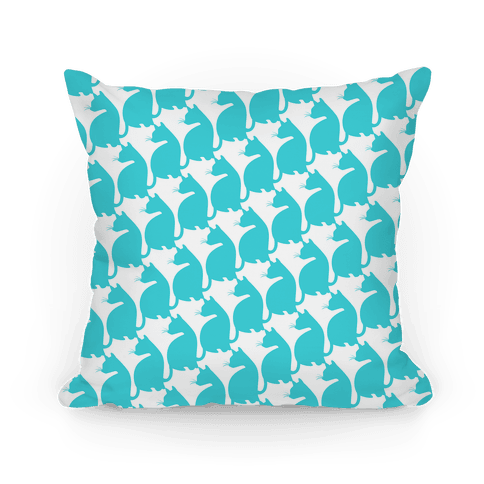 Cats Pattern Pillow