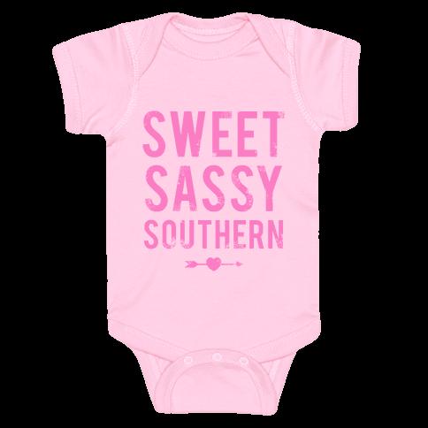 Sweet Sassy Southern Baby Onesy