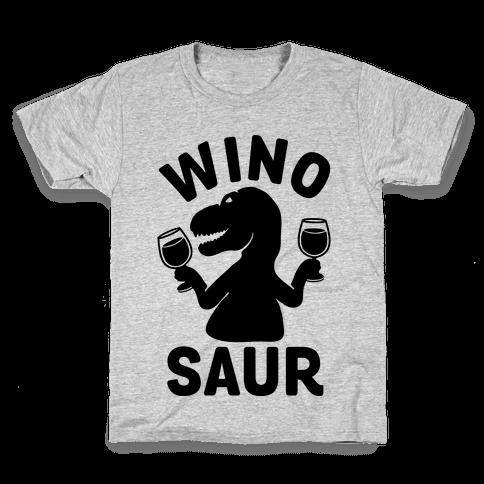 Winosaur Kids T-Shirt