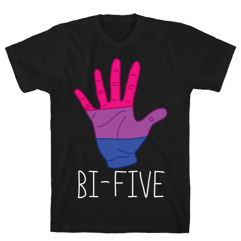 Bi-Five Mens T-Shirt