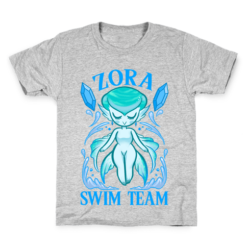 Zora Swim Team Parody Kids T-Shirt