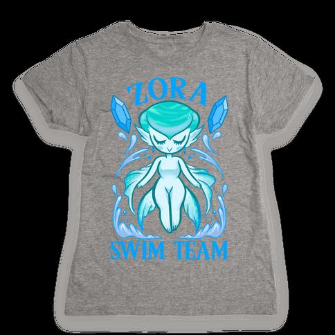 Zora Swim Team Parody Womens T-Shirt