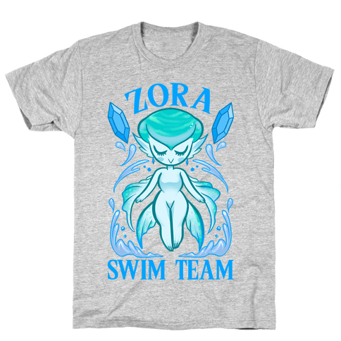 Zora Swim Team Parody Mens T-Shirt