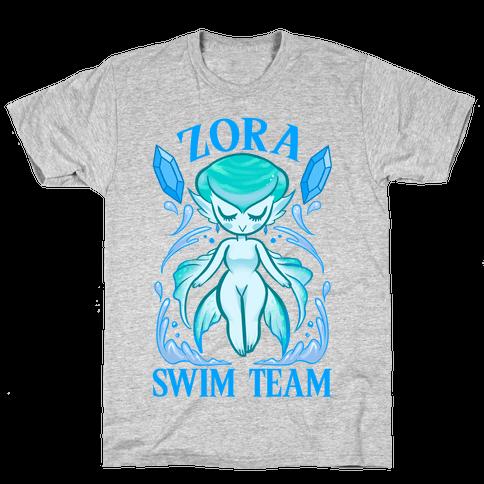 Zora Swim Team Parody Mens T-Shirt