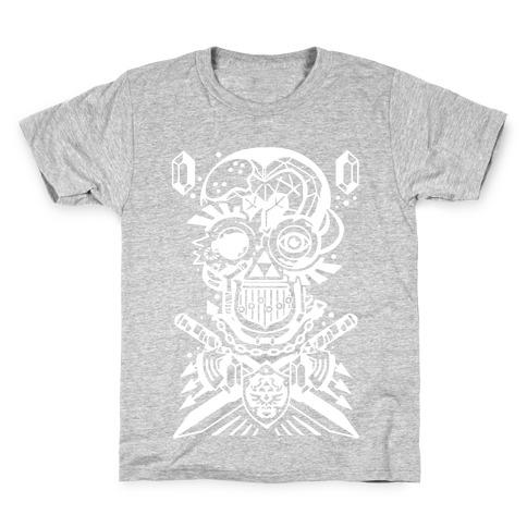 Legend Of Zelda skull Kids T-Shirt