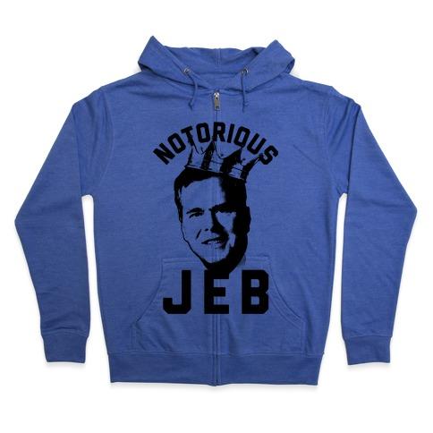 Notorious JEB Zip Hoodie