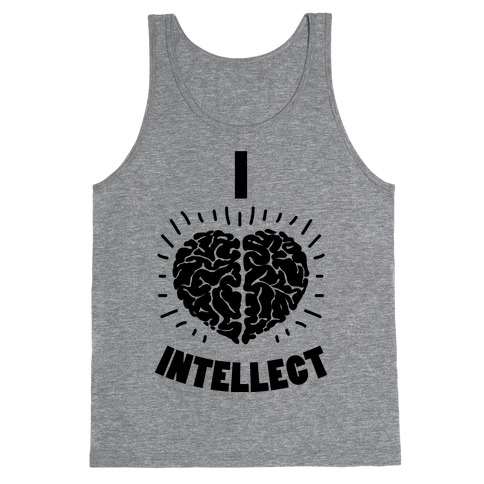 I Heart Intellect Tank Top