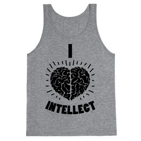 I Heart Intellect Tank Top