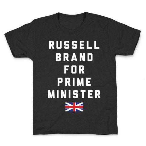 Russell Brand For Prime Minister Kids T-Shirt