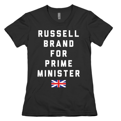 Russell Brand For Prime Minister Womens T-Shirt