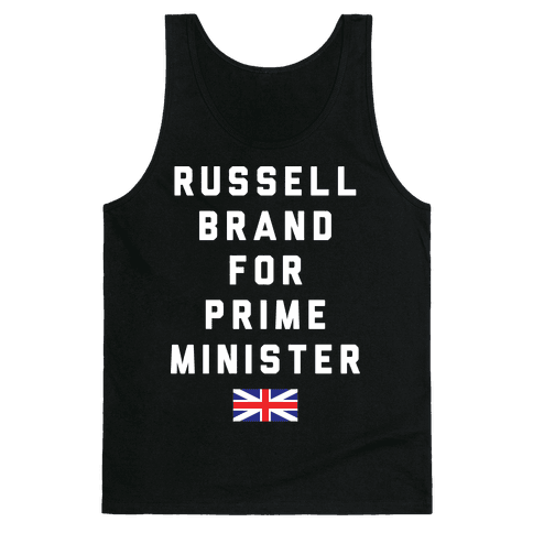 Russell Brand For Prime Minister Tank Top