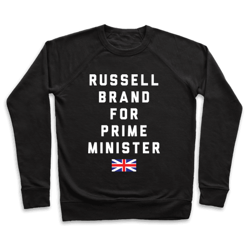 Russell Brand For Prime Minister Pullover