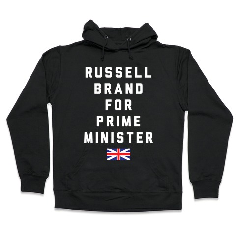 Russell Brand For Prime Minister Hooded Sweatshirt