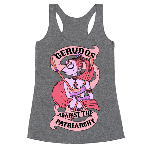 Gerudos Against The Patriarchy Racerback Tank Top