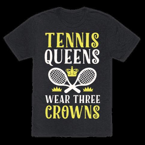 Tennis Queens Wear Three Crowns