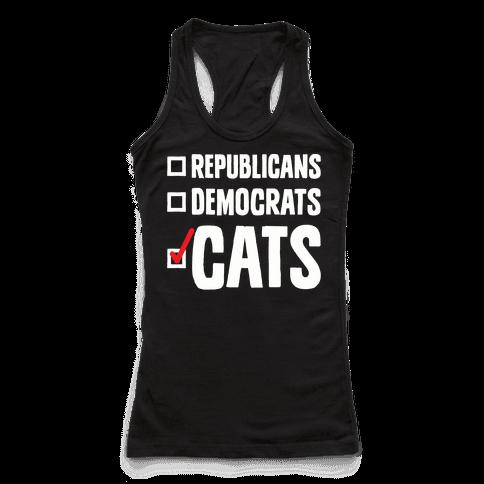 Republicans Democrats Cats