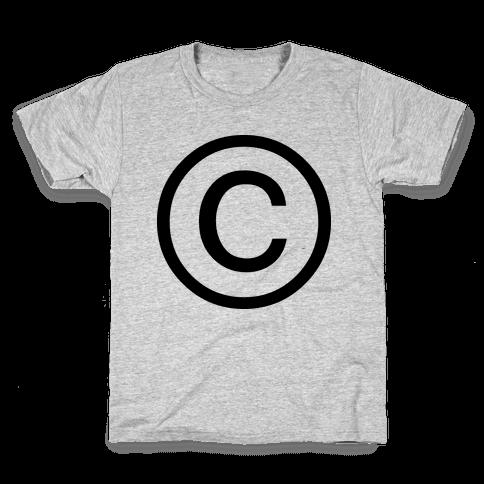 Copyright Kids T-Shirt