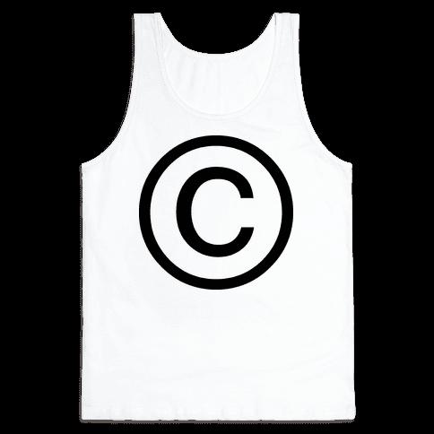 Copyright Tank Top