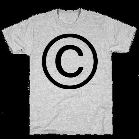 Copyright Mens T-Shirt