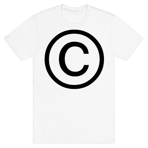Copyright Mens T-Shirt