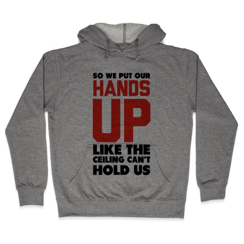 Can't Hold Us (Baseball Tee) Hooded Sweatshirt