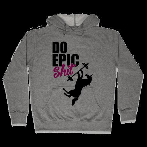 Epic Workout Hooded Sweatshirt