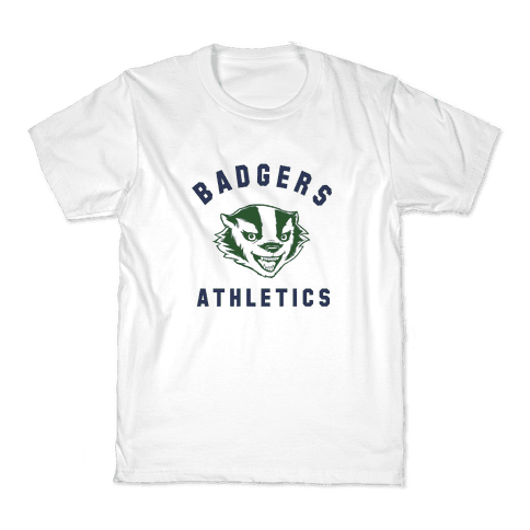 Badgers Green & Navy Kids T-Shirt
