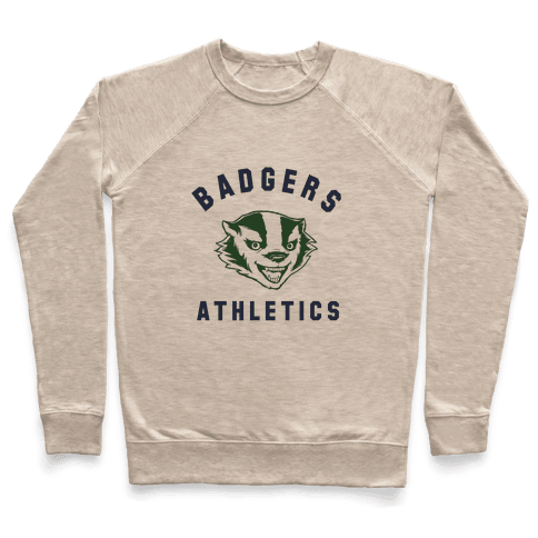 Badgers Green & Navy Pullover