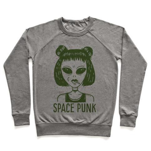 Space Punk Alien Pullover
