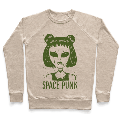 Space Punk Alien Pullover