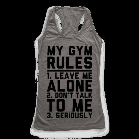 My Gym Rules