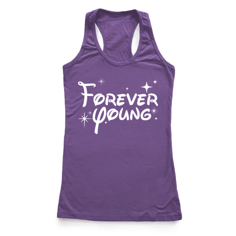 Forever Young Racerback Tank Top