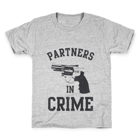 Partners in Crime Vintage (Right) Kids T-Shirt
