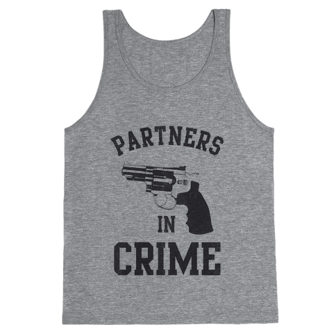 Partners in Crime Vintage (Right) Tank Top