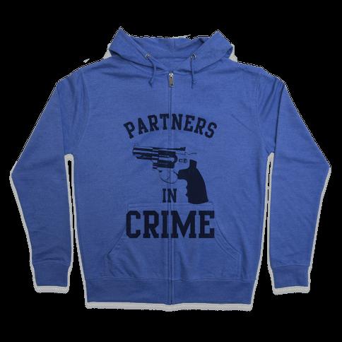 Partners in Crime Vintage (Right) Zip Hoodie