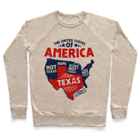 United States of Texas Pullover