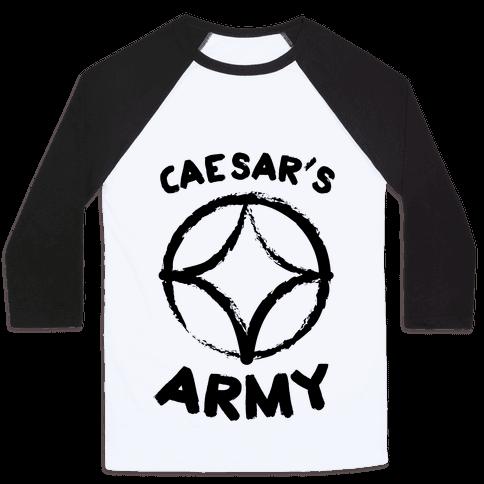 Caesar's Army Baseball Tee