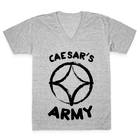 Caesar's Army V-Neck Tee Shirt