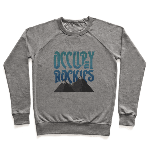 Occupy the Rockies Twilight Pullover