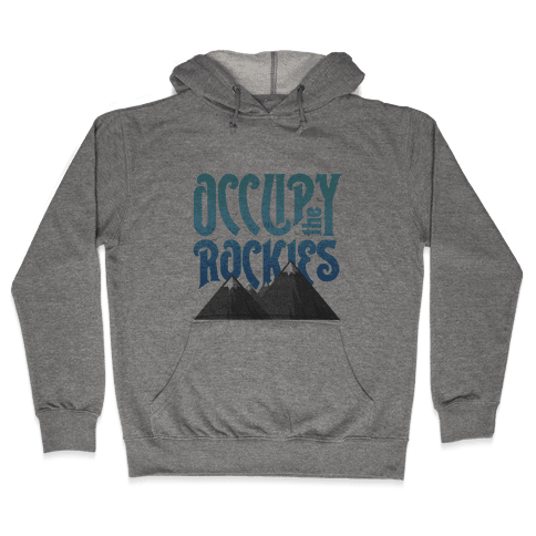 Occupy the Rockies Twilight Hooded Sweatshirt