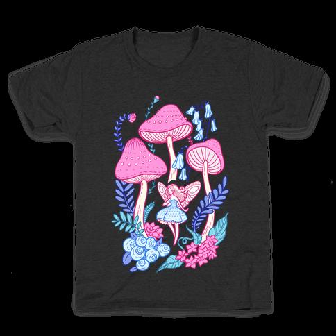 Pastel Fairy Garden Kids T-Shirt