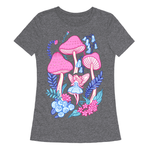 Pastel Fairy Garden Womens T-Shirt