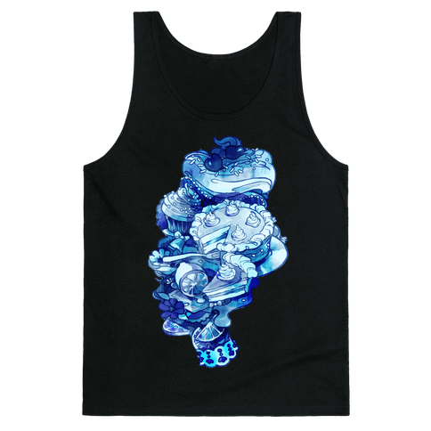 Marie Antoinette Cake and Sweets Tank Top