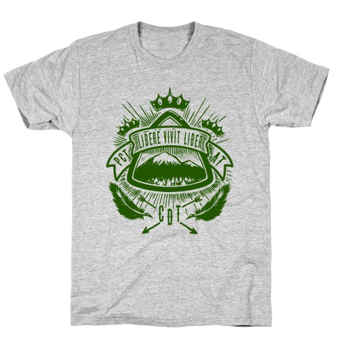 Triple Crown Hiking Trail Crest T-Shirt